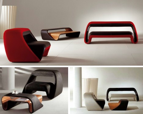 Resultado de imagen de diseño de muebles futurista